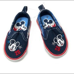 Disney Mickey Mouse Slip On Sneakers